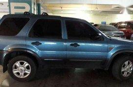 2002 Ford Escape MT Blue SUV For Sale