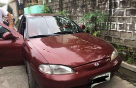 Hyundai Elantra 16 1999 MT Red For Sale