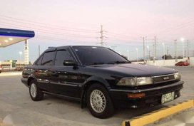 Toyota Corolla sedan black for sale