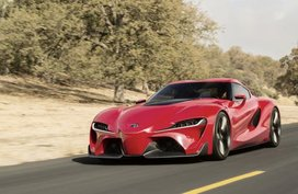 Appreciate Toyota Supra 2018 in rendering