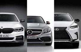 Mercedes-Benz, Lexus & BMW: Intensive competition in luxury car sales