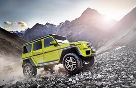 Farewell to the Mercedes G500 4×4² this October