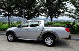 2010 Mitsubishi Strada GLX 2.5 MT Silver For Sale