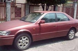 Toyota Camry 2001 Manual Red For Sale