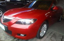 2017 Mazda 3 V AT Red Sedan For Sale