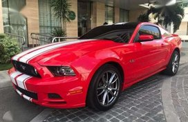 2014 FORD MUSTANG 5.0 GT AT Red For Sale