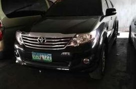Toyota Fortuner 2013 4x2 AT Black For Sale