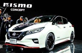 Nissan Leaf Nismo hatchback concept debuts at 2017 Tokyo Motor Show