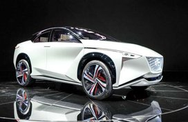Nissan unveils Nissan IMx concept at 2017 Toyko Motor Show