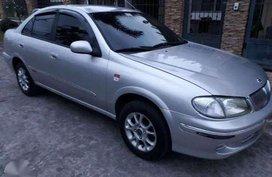 Nissan Sentra Grandeur 2002 1.6 MT Silver For Sale