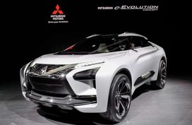 Mitsubishi e-Evolution Concept launched at Tokyo Motor Show 2017