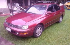 1994 Toyota Corona Exsior MT Red For Sale