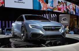 Subaru Viziv Performance Concept unveiled at Tokyo Motor Show 2017