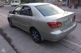 Toyota altis 2004 automatic