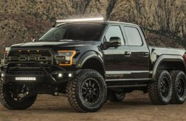 Ford VelociRaptor 6x6 - a more powerful Raptor revealed