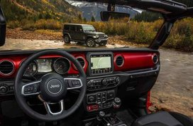 Jeep Wrangler 2018 interior revealed