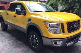 2017 Nissan Titan XD 4x4 AT Yellow Truck For Sale