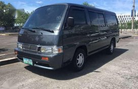 Nissan Urvan 2007 black for sale
