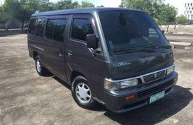 Nissan Urvan 2007 MT Gray Van For Sale