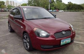 Hyundai Accent 2009 CRDi Diesel Red For Sale