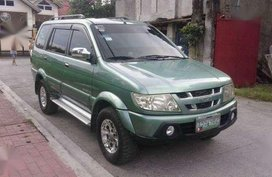 Isuzu Sportivo Manual 2007 Green For Sale