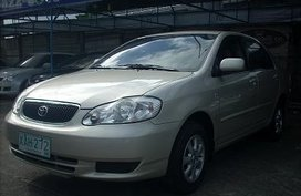 2001 Toyota Corolla Altis E Auto Beige for sale