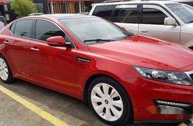 Kia Optima 2013 red for sale
