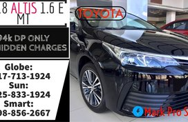Call Now: 09258331924 Casa Sale 2019 Brand New Toyota Corolla Altis Manual E 1.6 19k monthly