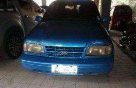 2004 KIA Sportage MT blue for sale