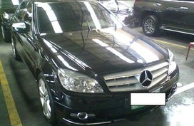 Mercedes-Benz C200 2007 AT Black For Sale