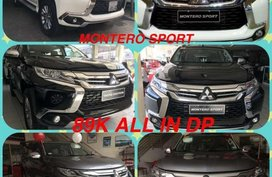 For sale 2017 Mitsubishi Montero, Adventure, Mirage!