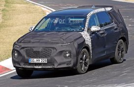 All new Hyundai Santa Fe 2019 to debut in early 2018?