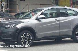 Honda HR-V 2018 facelift: Spy shots in Malaysia