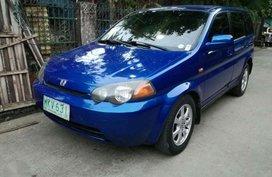 Honda HRV manual 2000 model. for sale
