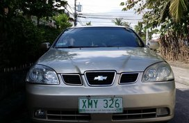 Chevrolet Optra 2004 AT Silver Sedan For Sale