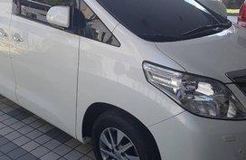 2014 Toyota Alphard AT White Van For Sale