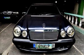 1998 Mercedes Benz E320 AT Blue Wagon For Sale