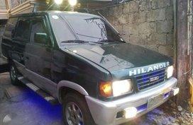 Isuzu Hilander Crosswind 1999 MT Green For Sale
