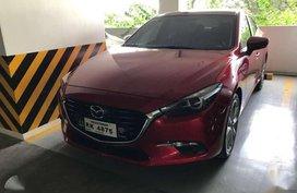 2017 Mazda 3 2.0L Skyactiv Red Sedan For Sale