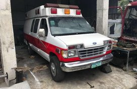 1998 Ford E350 ambulance from the USA FOR SALE