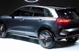 Kia Niro EV Concept previewed at 2018 CES