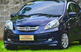 Honda Brio Amaze V 2015 1.3 Blue For Sale