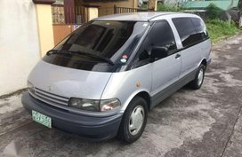 Fresh Toyota Previa 1998 AT Silver Van For Sale