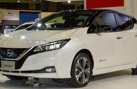 2018 Nissan Leaf on display at Singapore Motor Show