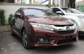 2016 Honda City VX Navi 1.5L AT Red For Sale