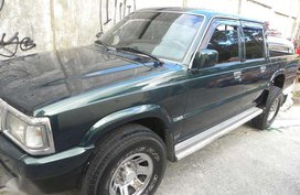 MAZDA 1999 B2500 2.5L Diesel 4X4 MT Green For Sale