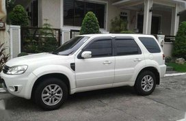 2010 Ford Escape XLT AT White SUV For Sale