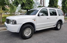 Ford Everest 2005 XLT 4x2 Automatic Diesel for sale