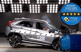Mitsubishi Eclipse Cross awarded 5-star ASEAN NCAP rating