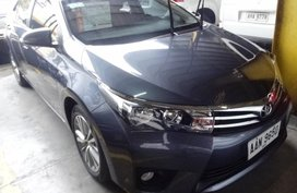 Toyota Corolla 2014 Gasoline Manual Blue for sale